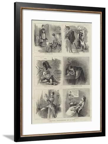 Amateur Photography by a Lady--Framed Art Print