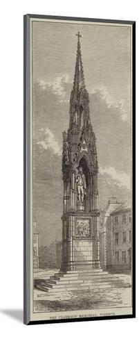 The Clarkson Memorial, Wisbech--Mounted Giclee Print