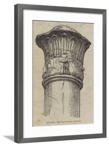 Ancient Carthaginian Capital--Framed Art Print