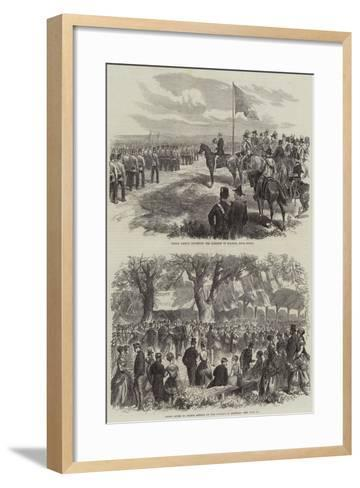 Prince Arthur in Nova Scotia--Framed Art Print