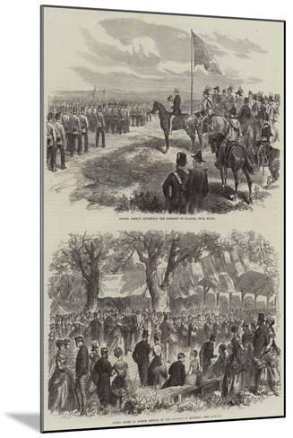 Prince Arthur in Nova Scotia--Mounted Giclee Print
