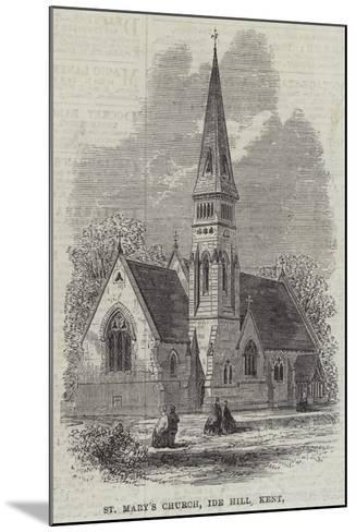 St Mary's Church, Ide Hill, Kent--Mounted Giclee Print