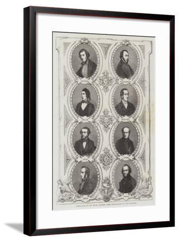 Associates of the Royal Academy--Framed Art Print