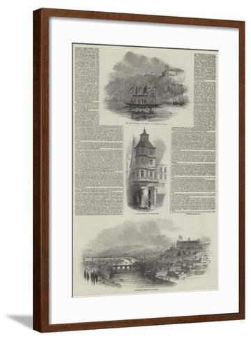Her Majesty's Visit to Germany--Framed Art Print