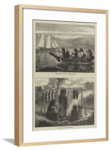 Sketches of British Columbia--Framed Art Print