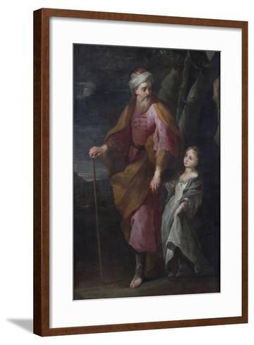 St Joachim and the Virgin Mary--Framed Art Print