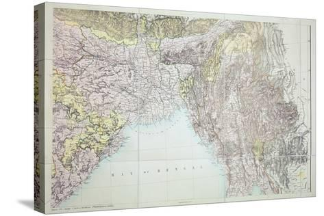 Map of the Bay of Bengal, 1898--Stretched Canvas Print