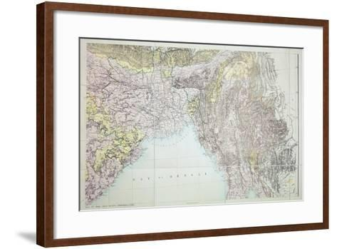 Map of the Bay of Bengal, 1898--Framed Art Print