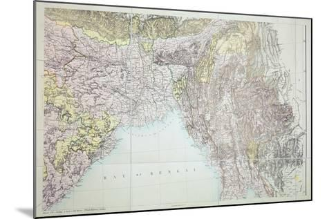Map of the Bay of Bengal, 1898--Mounted Giclee Print