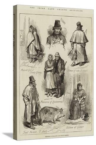 The Irish Land League Agitation--Stretched Canvas Print