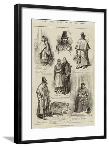 The Irish Land League Agitation--Framed Art Print