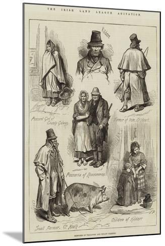 The Irish Land League Agitation--Mounted Giclee Print