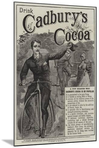 Advertisement, Cadbury's Cocoa--Mounted Giclee Print