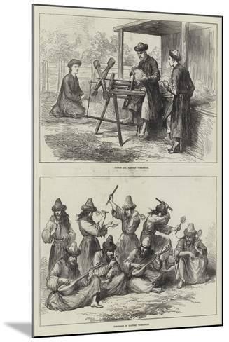 Sketches in Eastern Turkestan--Mounted Giclee Print