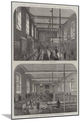 The Great Schools of England--Mounted Giclee Print
