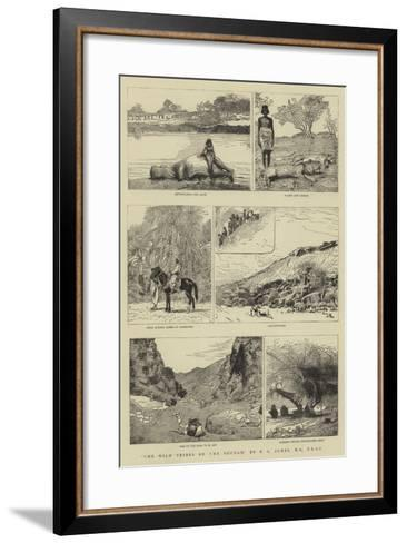 The Wild Tribes of the Soudan--Framed Art Print