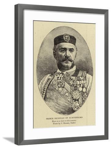 Prince Nicholas of Montenegro--Framed Art Print