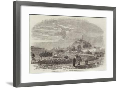 Lucknow, the Capital of Oude--Framed Art Print