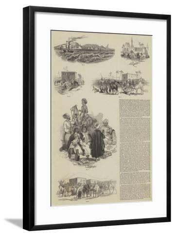 Bombay to London Within 60 Days--Framed Art Print