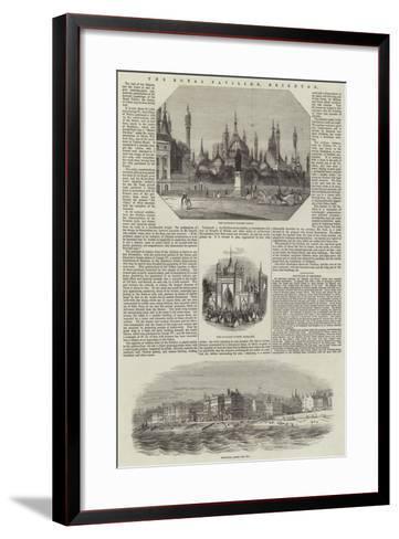 The Royal Pavilion, Brighton--Framed Art Print