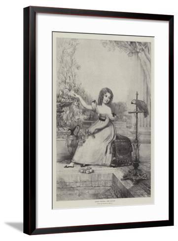 Queen Victoria, Aged Eleven--Framed Art Print