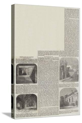 Inns of Court and Chancery--Stretched Canvas Print