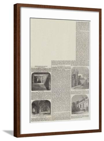 Inns of Court and Chancery--Framed Art Print