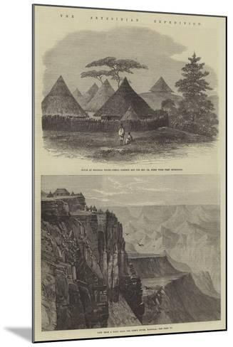 The Abyssinian Expedition--Mounted Giclee Print