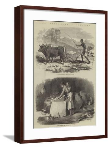 The Abyssinian Expedition--Framed Art Print