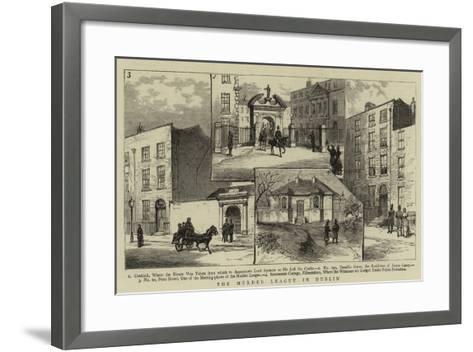 The Murder League in Dublin--Framed Art Print