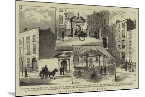 The Murder League in Dublin--Mounted Giclee Print