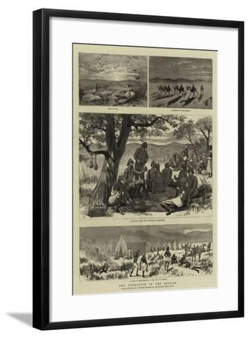 The Rebellion in the Soudan--Framed Art Print