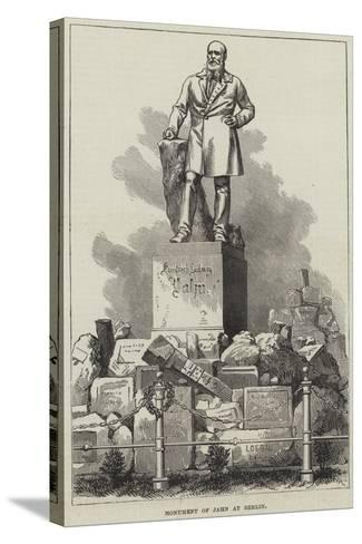 Monument of Jahn at Berlin--Stretched Canvas Print