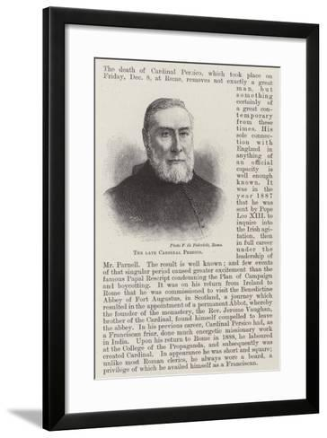 The Late Cardinal Persico--Framed Art Print