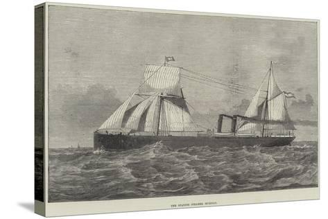The Spanish Steamer Murillo--Stretched Canvas Print
