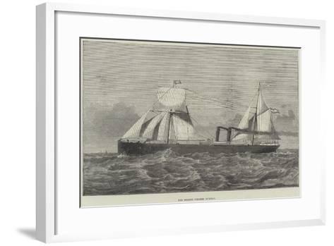 The Spanish Steamer Murillo--Framed Art Print