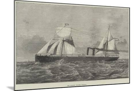 The Spanish Steamer Murillo--Mounted Giclee Print