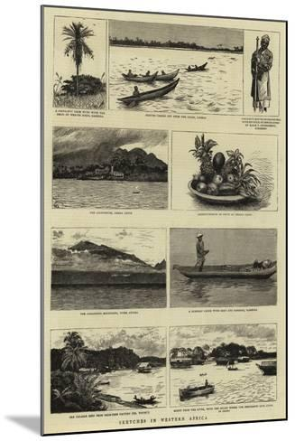 Sketches in Western Africa--Mounted Giclee Print