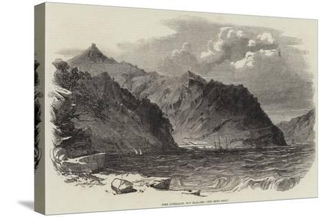 Port Lyttelton, New Zealand--Stretched Canvas Print