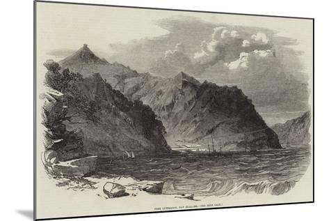 Port Lyttelton, New Zealand--Mounted Giclee Print