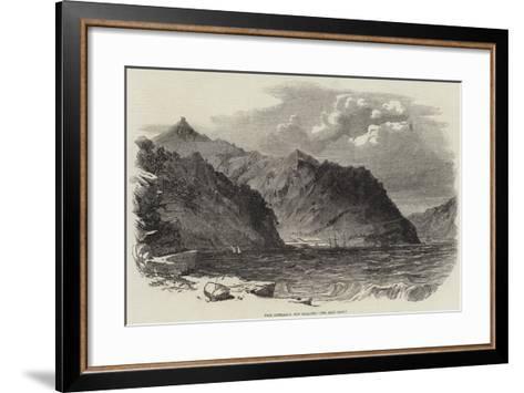 Port Lyttelton, New Zealand--Framed Art Print
