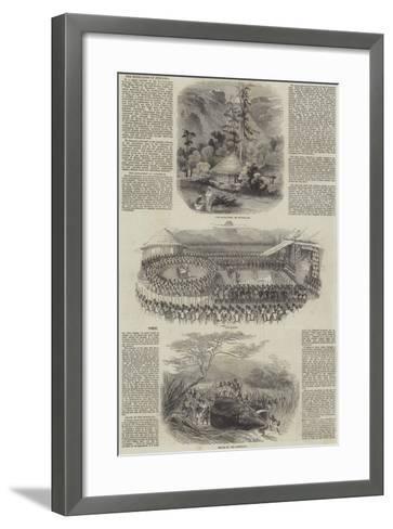 The Highlands of Ethiopia--Framed Art Print