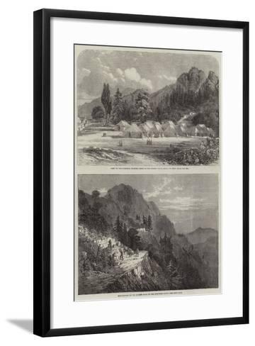 The Murree Hills in India--Framed Art Print