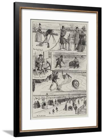 The Wreck of the Vandalia--Framed Art Print