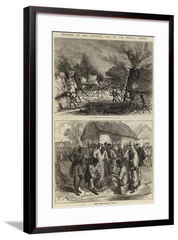 Sketches of the Ashantee War--Framed Art Print