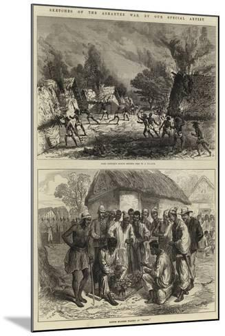 Sketches of the Ashantee War--Mounted Giclee Print