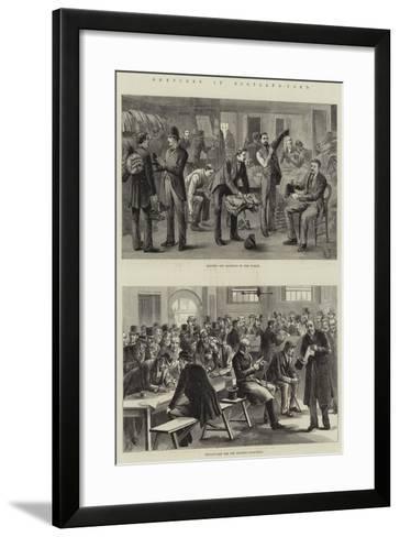 Sketches in Scotland-Yard--Framed Art Print