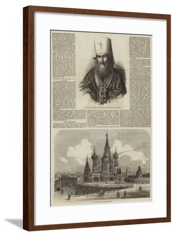 The Coronation of the Czar--Framed Art Print