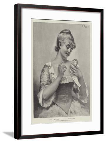 The Return of the Wanderer--Framed Art Print