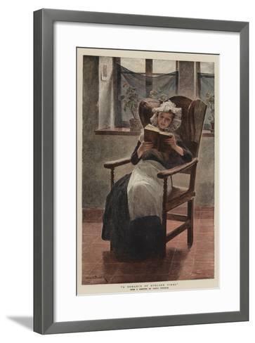 A Romance of Byegone Times--Framed Art Print